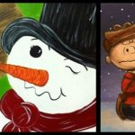paint-night-charlie-and-snowman