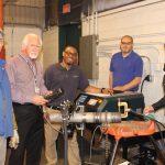Orbital welder training for welding faculty members